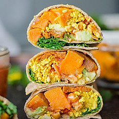 Sweet Potato Burrito