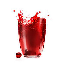 Apple or Cranberry Juice