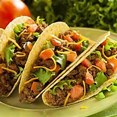 Chicken or Beef  Tacos