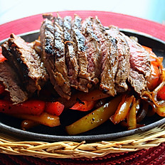 Sirloin Steak Fajitas