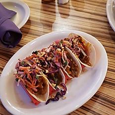 BBQ Jackfruit & Peanut Tacos
