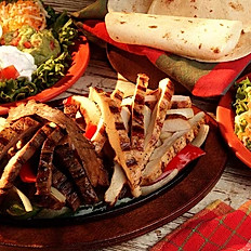 Sirloin Steak & Chicken Fajitas