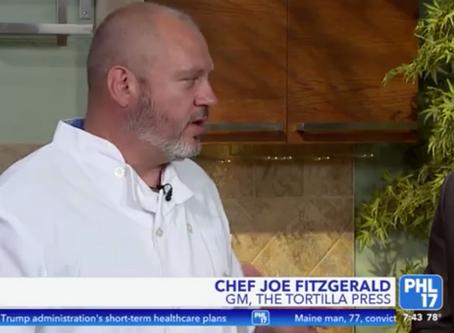 Chef Joe Fitzgerald on Restaurant Week in Collingswood