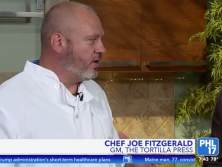 Chef Joe Fitzgerald on Restaurant Week in Collingswood