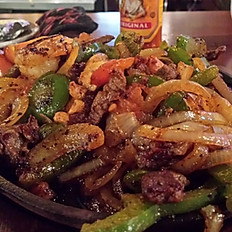 Steak & Shrimp Fajitas