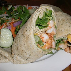 Shrimp & Scalliop Wrap