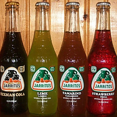 Fountain Sodas, Jarritos Mexican Sodas (assorted flavors)