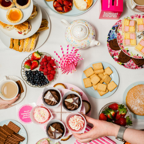 Breast Cancer Care Afternoon Tea Campaign