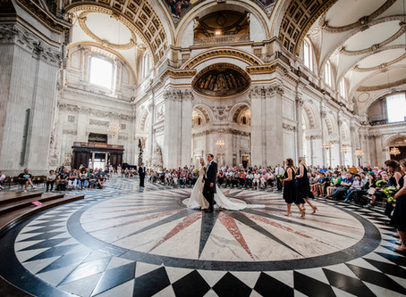 Wedding at St Paul's Cathedral