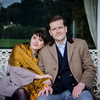 Engagement Photographs in Kenwood Park   Roberta & Sam