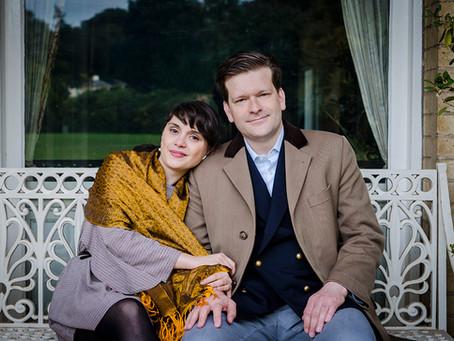 Engagement Photographs in Kenwood Park | Roberta & Sam