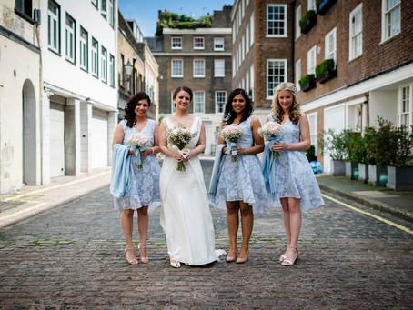 Wedding photography at The Villandry London
