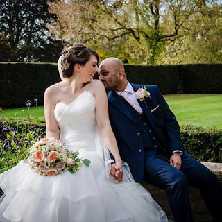 Fanhams Hall Autumn Wedding | Rachel & Prashant