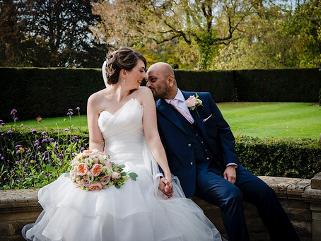 Fanhams Hall Autumn Wedding | Rachel & Prashant