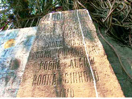 Zero Mile Stone Of Pune