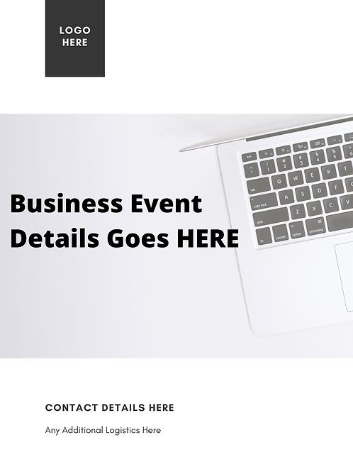 Business Casual Marketing Promo E-Flyers