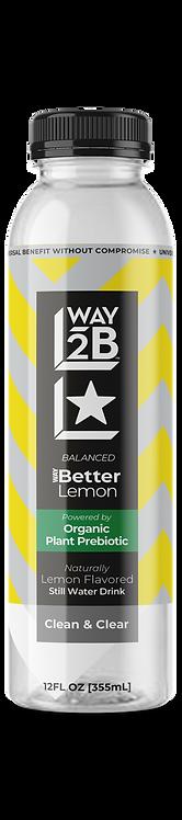 *BALANCED* - WAY Better Still Lemon - Powered by Organic Prebiotic