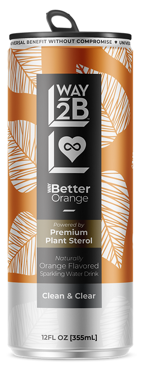 WAY Better Sparkling Orange - Powered by Plant Sterol
