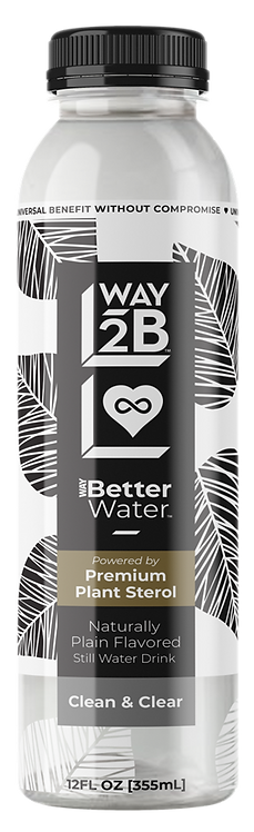 WAY Better Water™ Still Drink - Powered by Plant Sterol