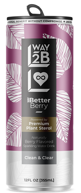 WAY Better Sparkling Berry - Powered by Plant Sterol
