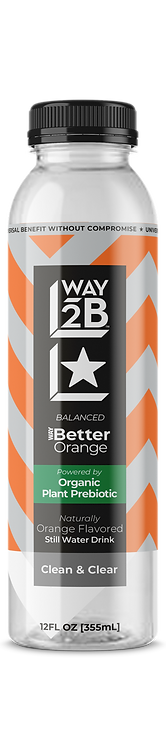 *BALANCED* - WAY Better Still Orange - Powered by Organic Prebiotic