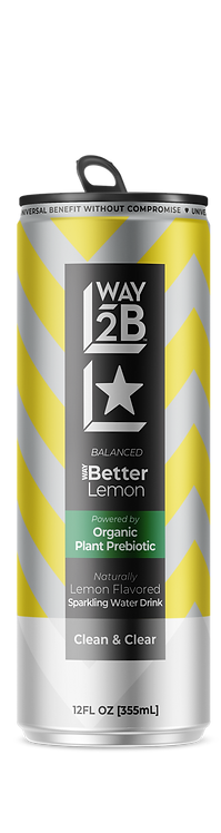 *BALANCED* - WAY Better Sparkling Lemon - Powered by Organic Prebiotic