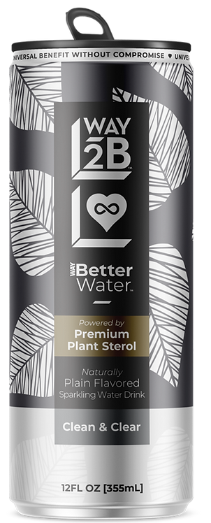 WAY Better Water™ Sparkling Drink - Powered by Plant Sterol