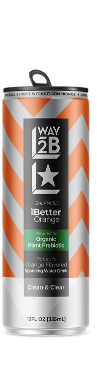 *BALANCED* - WAY Better Sparkling Orange - Powered by Organic Prebiotic
