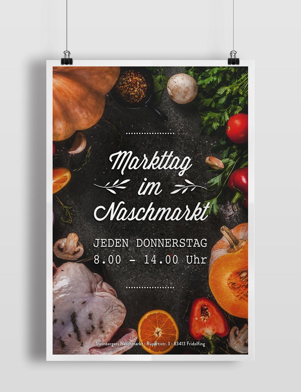 Markttag Plakat