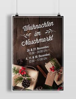 Weihnachtsmarkt Plakat