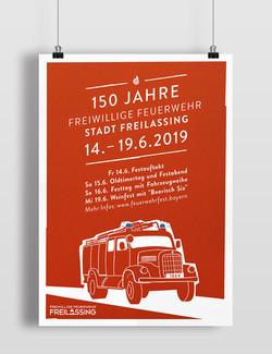 Feuerwehrfest Plakat