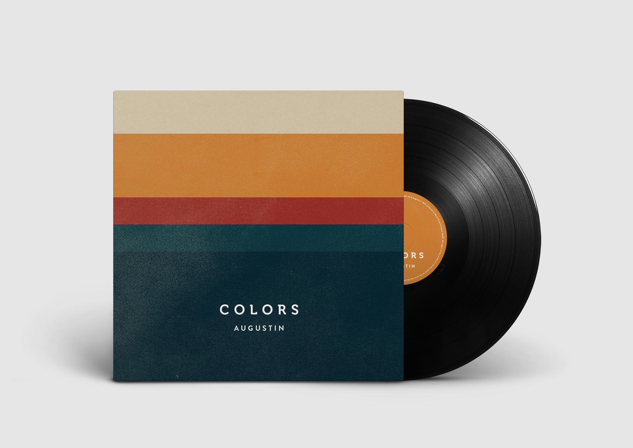 Vinyl Cover und Lable