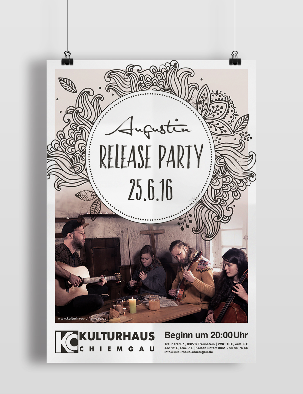 Release Party Plakat