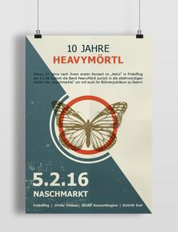 Plakat für das Jubiläums Konzert