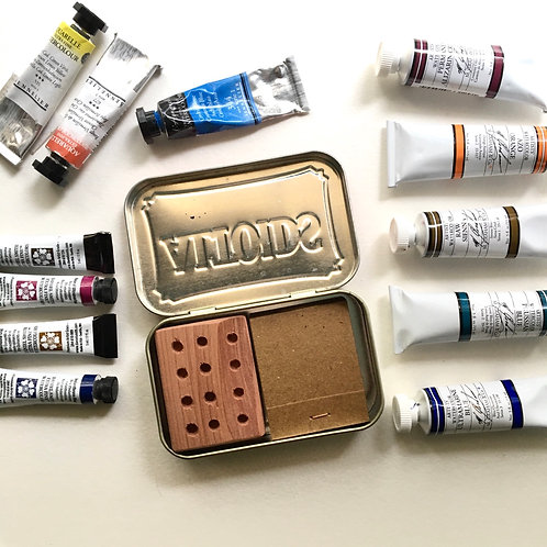 Curiously Strong Tiny Art Kit
