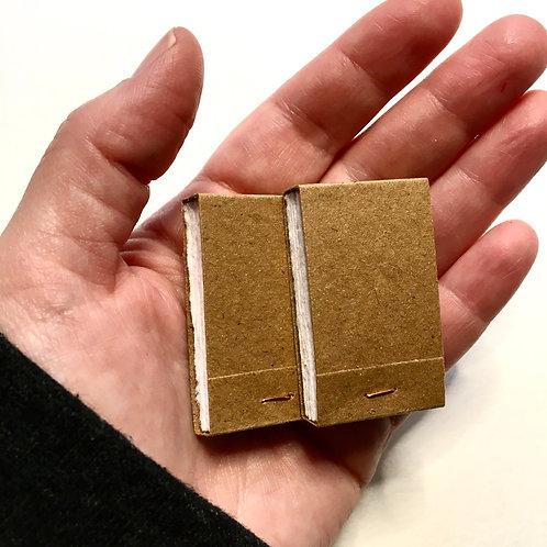 Seconds Frabjous Tiny Watercolor Matchbooks