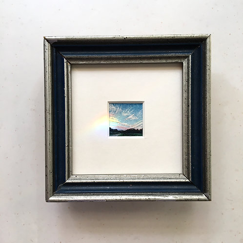 Myriad / original tiny art framed