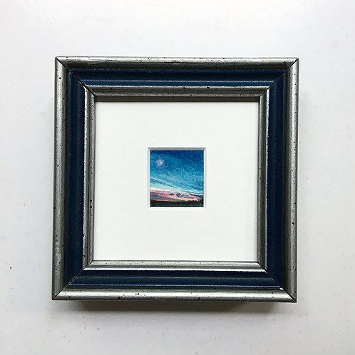 Aequivalere / original tiny art framed