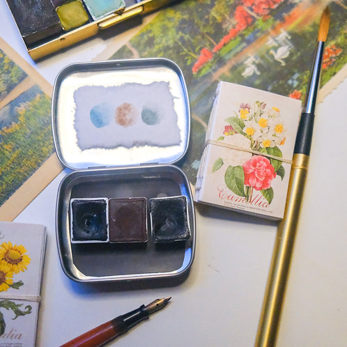gardens tiny art kit