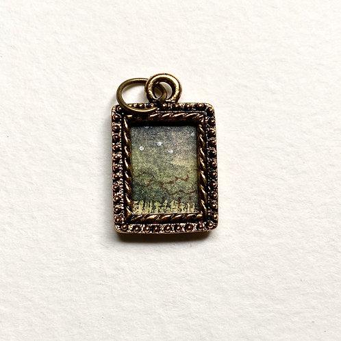 Star Light  / Tiny Passage series II / tiny art pendant