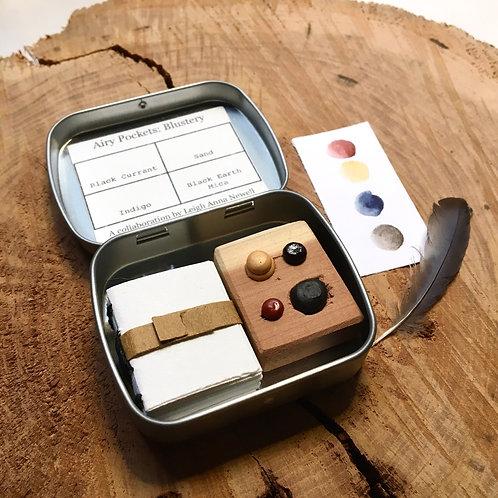 Airy Pockets: Blustery / tiny art kit