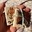 Thumbnail: Wild Peach Rose / tiny fancy philately art kit