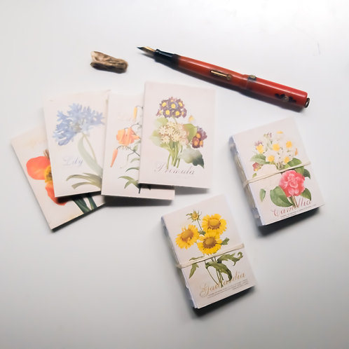 romantic & vintage tiny sketchbook (PREORDER single)