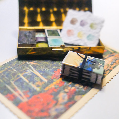 scenes tiny art kit