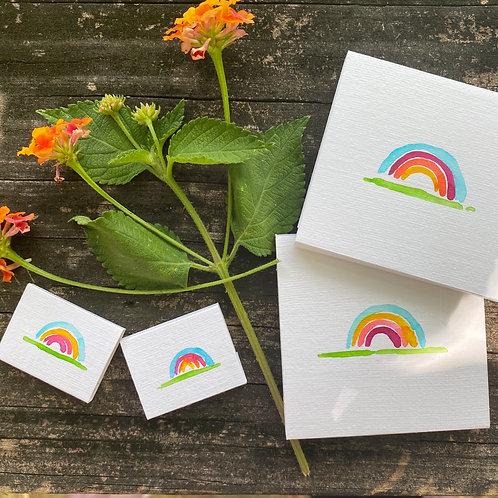tiny rainbow sketchbooks