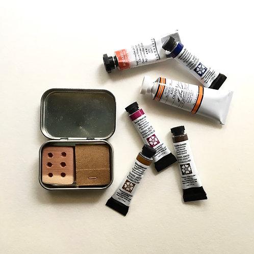 Simple Black Dimple Tiny Art Kit