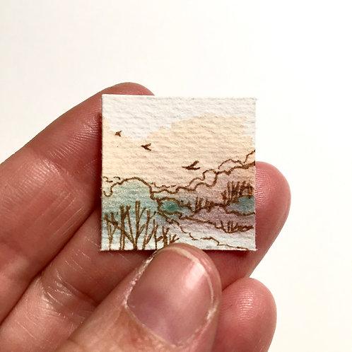 Clement / tiny study (unframed)