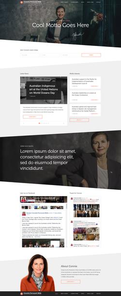 Concetta Fierravanti-Wells Website