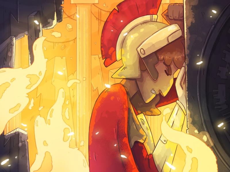 Centurion (Doctor Who fan-art)