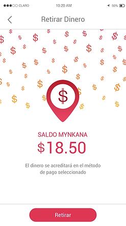 Retira tu dinero - Mynkana